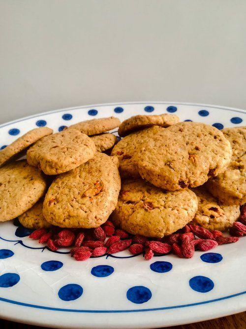 Biscotti-con-bacche-di-Goji