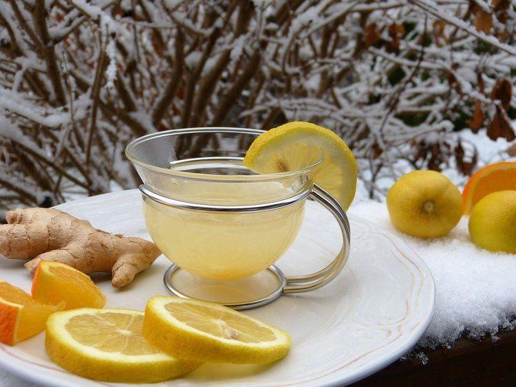 Tisana-con-zenzero-e-limone